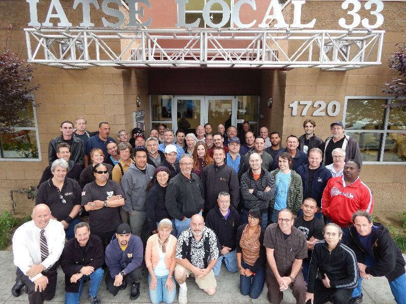 CTS Training at IATSE Local 33